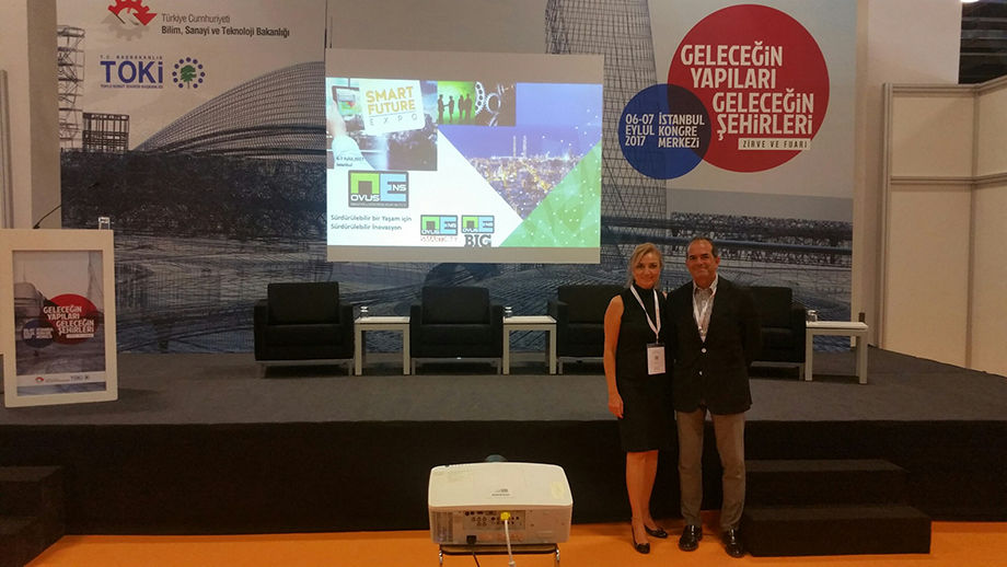 Hosted Smart Living in Smart Cities at ISAF Exclusive in Istanbul